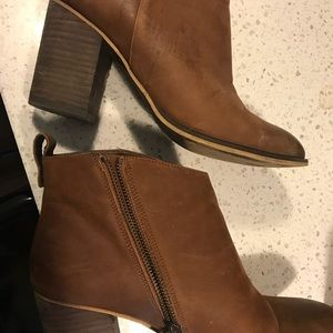 BP. Lance Block Heel Booties 10 WIDE